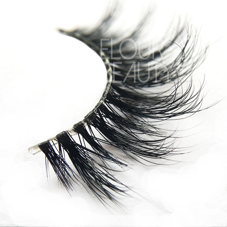 3D long mink eyelashes double layered are best artificial eyelashes UK ES03